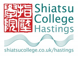 Shiatsu College Hastings logo by 5 element design
